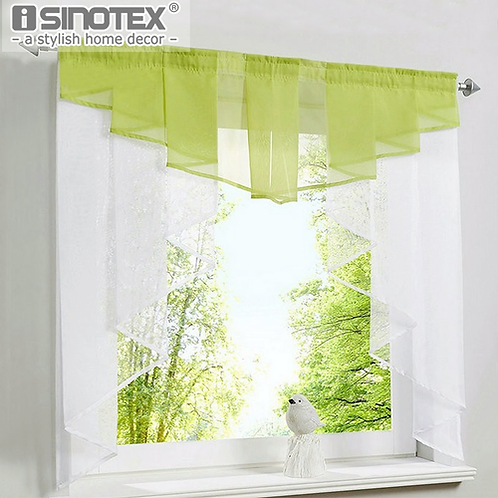 Roman Curtain Blind 11 Colors Fashion Pleated Design Stitching Colors Tulle