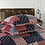 Thumbnail: CHAUSUB Sailing Summer Quilt Set 3PCS 100% Cotton Quilts Quilted Bedspread Bed