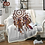 Thumbnail: BeddingOutlet Velvet Plush Throw Blanket Hipster Watercolor Sherpa Blanket