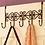 Thumbnail: Hot! Coat Towel Hanger Cap Organizer Rack Home Bathroom Over Door Holder