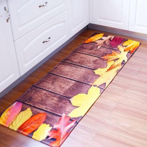60x180CM Antiskid Mat for Kitchen Floor Long Door Mat Vintage Style Kitchen Rug