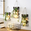 Thumbnail: NOOLIM Pastoral Decoration Hydroponic Plant Glass Vase Living Room Wall Hanging