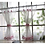 Thumbnail: 2pcs ZHH White Roman Curtain Tulle hot sell Coffee Curtain Kitchen Short Curtain