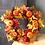 Thumbnail: Wreath Decoration 40CM Halloween Pumpkin Berry Maple Leaf Fall Door Wreath Door