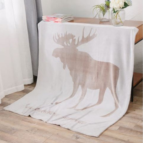 Soft Blanket Throw for Traveling Hiking Camping TV Cabin Couch Decorative Coral