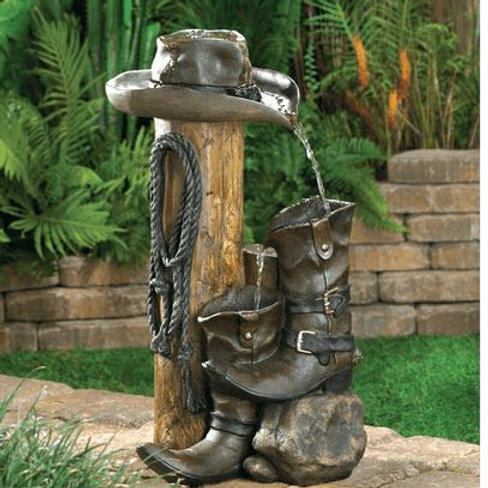 Wild Western Water Fountain