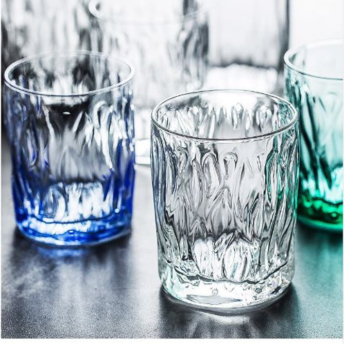 Nordic creative colored glass cup Lead-free Crystal Cups Large Capacity Beer Win