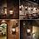Thumbnail: Kaigelin Wall Sconces Vintage Wall Lamp E27 LED Bulb Loft Retro Wall Luminaire