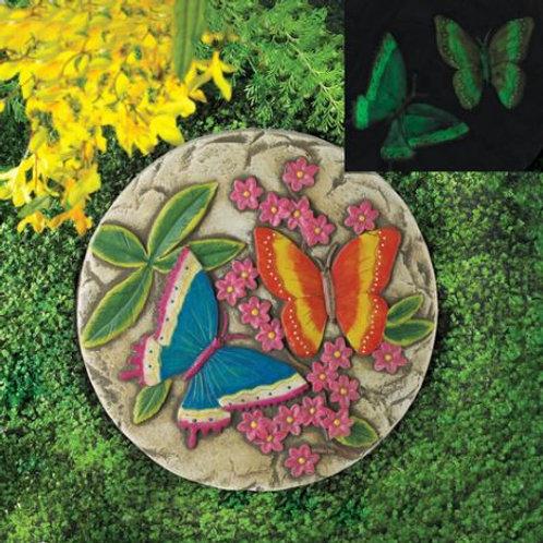 Glow Butterfly Garden Stone