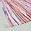 Thumbnail: Striped Cotton Handmade Area Rug Blanket Dining Room Carpet Bedroom Floor Sofa