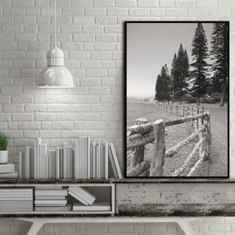 Nordic Trees Landscape Forest Abstract Wall Pictures Art Decoration Pictures Sca