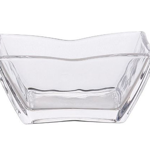 Simple Home Kitchen Glass Bowl Transparent Fruit Salad Bowl Dessert Bowl Breakfa