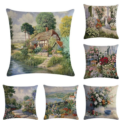 Country scenery--3 HomerDecor Cushion Cover Throw Pillowcase Pillow Covers 45 *