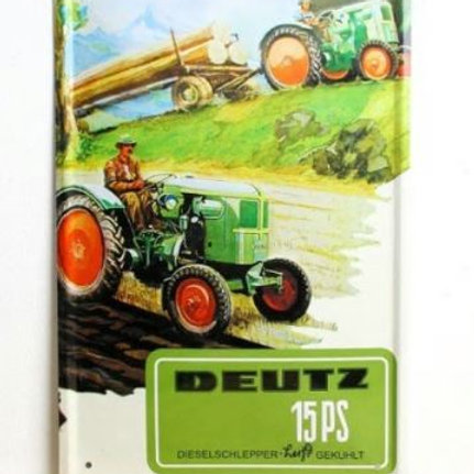 Tractor vintage tin signs retro metal sign antique imitation iron plate painting