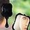 Thumbnail: 2018 1pcs Cute 2Color Black White Makeup Mirror Plastic Vintage Hand Held