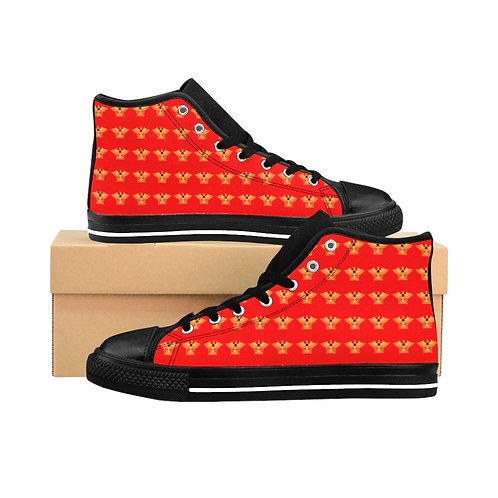 Centurions of the Sable Star of Ansteorra High-top Sneakers
