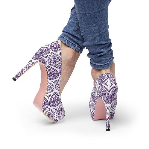 Byzantine Drop Platform Heels