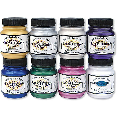 Lumiere Fabric Paint by Jaquard