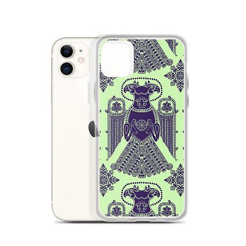 Mint Chocolate Regal Eagle iPhone Case