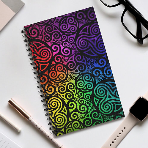 Celtic Rainbow Spiral Journal (EU)