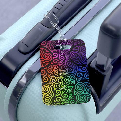 Celtic Rainbow Bag Tag