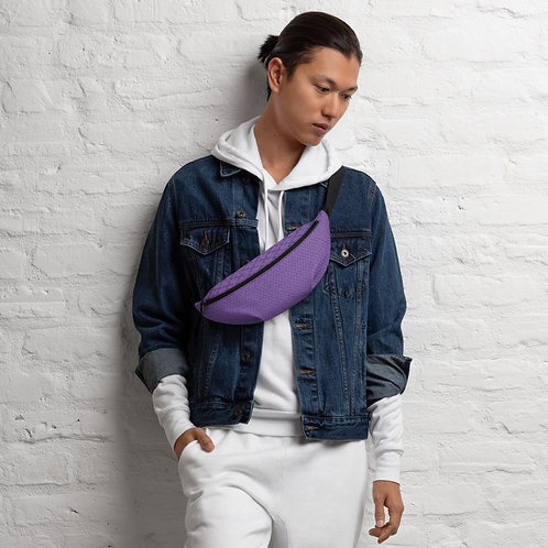 Violet Repeat Fanny Pack