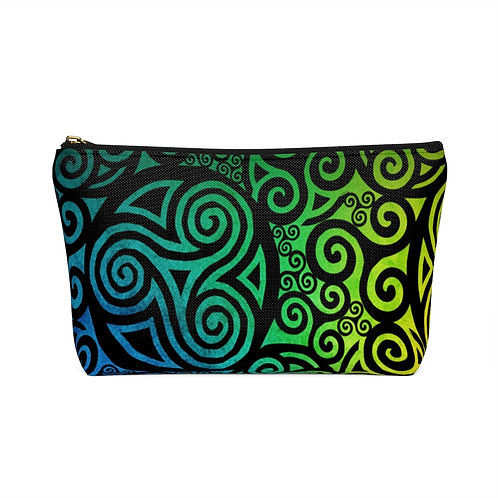 Celtic Rainbow Accessory Pouch w T-bottom