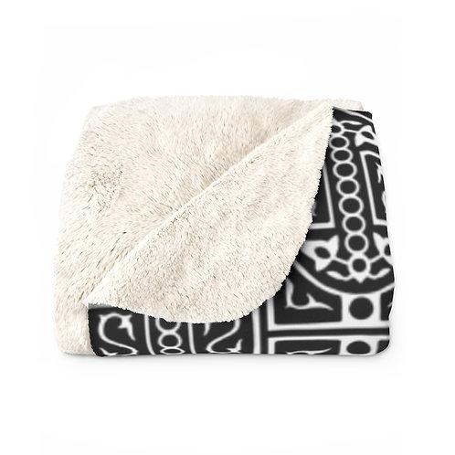 Mamluk Caliphate Sherpa Fleece Blanket