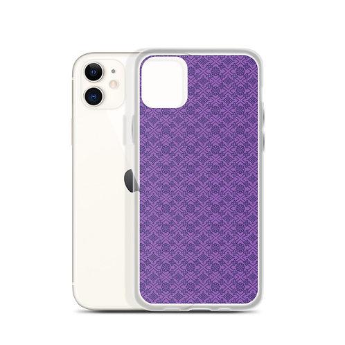 Violet Repeat iPhone Case
