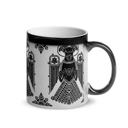 Regal Eagle Glossy Magic Mug