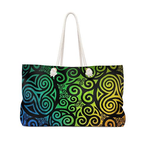 Celtic Rainbow Weekender Bag