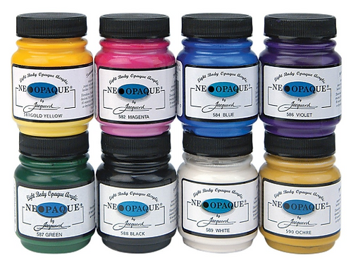 Neopaque Fabric Paint by Jaquard