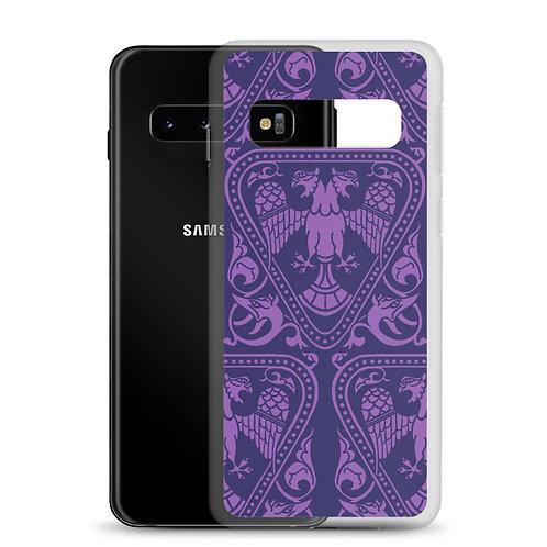 Violet Double Headed Eagle Samsung Case