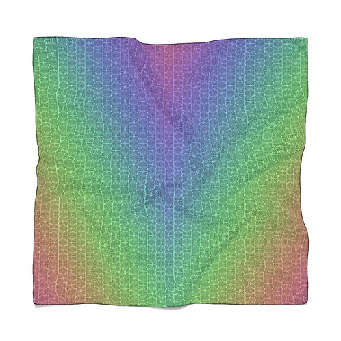 Rainbow Malmuk Caliphate Scarf