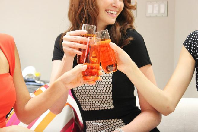 Blush women toasting.png