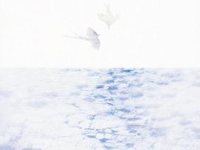 「風と羽ばたき」橙書店個展