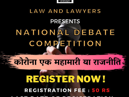 National Virtual Debate Competition
