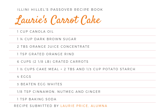 Laurie's Carrot Cake