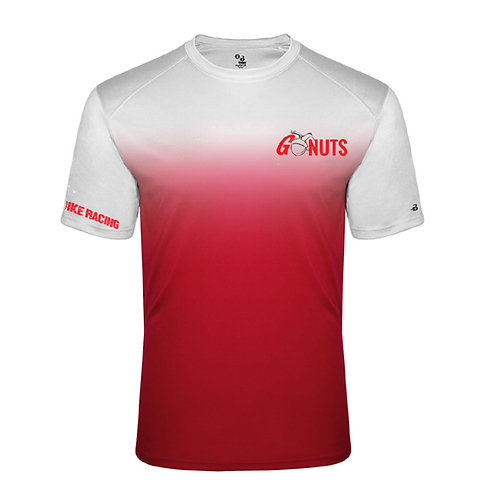 Youth Red Ombre Performance Tee