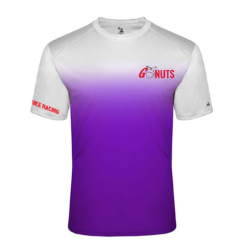 Youth Purple Ombre Performance Tee