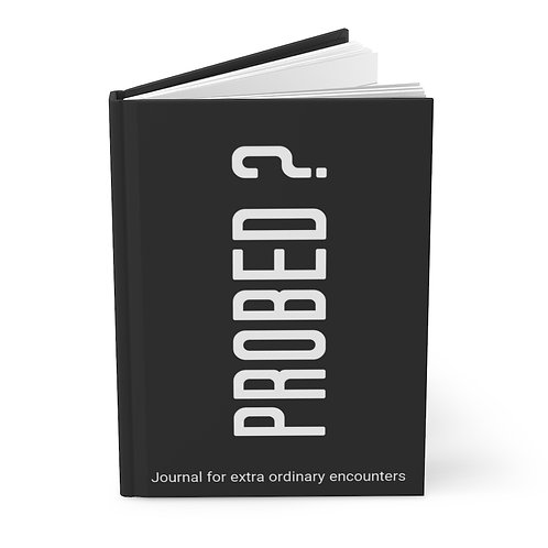 Probed Hardcover Journal