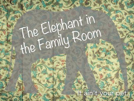 """Every Family Has """"Elephants"""""""