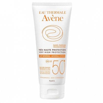 Avene SUN CARE SPF 50+ MINERAL MILK 防敏礦物防曬乳 (100ml)