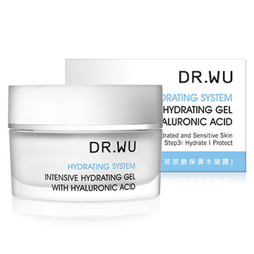 Dr. Wu INTENSIVE HYDRATING GEL WITH HYALURONIC ACID 玻尿酸保濕水凝霜 (30ml)