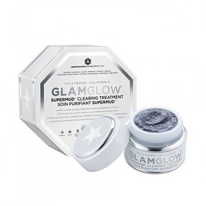 GlamGlow Glam Supermud Clearing Treatment Mud Mask 白罐潔淨面膜 (50g)