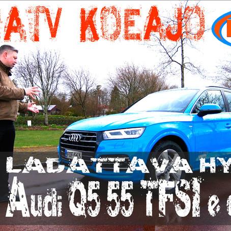 KaaraTV koeajo: Audi Q5 55 TFSI e quattro