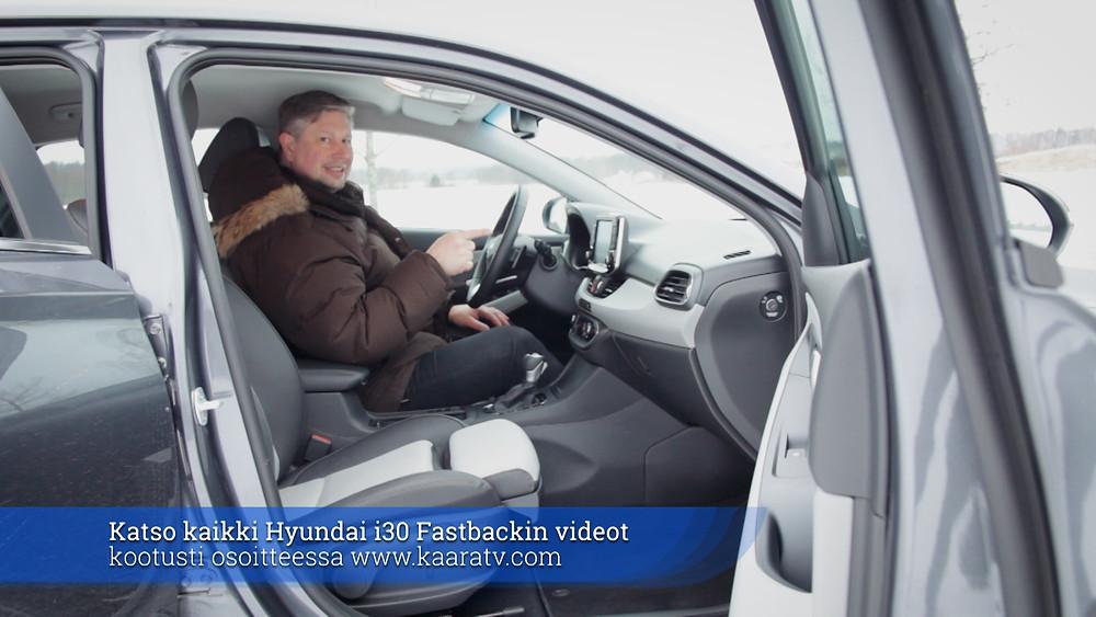 KaaraTV - koeajossa Hyundai i30 Fastback - toimittaja Antti Liinpää