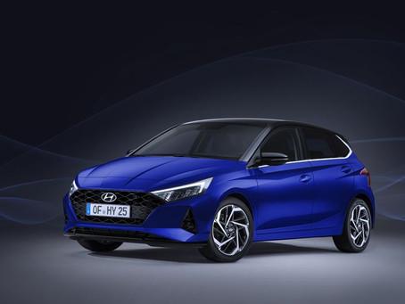 Uusi Hyundai i20 vuosimallia 2020 näyttää hyvältä