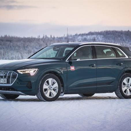 Audi e-tron on TM Talvisähköauto 2020 -vertailun voittaja