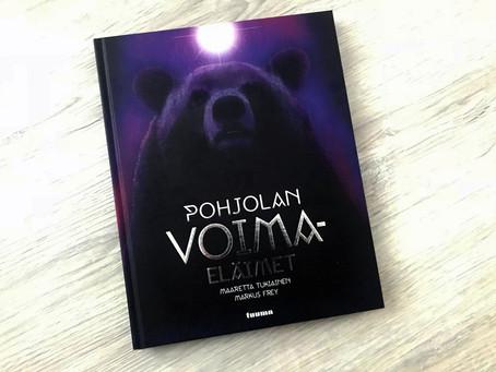 Voita uunituore Pohjolan voimaeläimet -kirja!